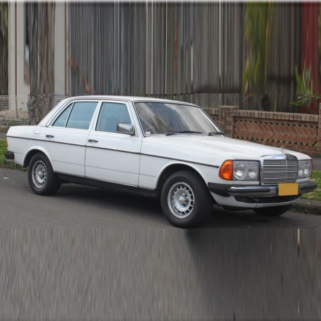Mercedes W123 - Service Manual / Repair Manual - Owners Manual
