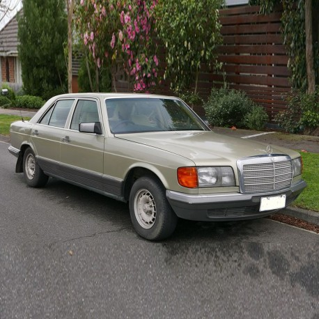 Mercedes S-Class (W126) - Service Manual / Repair Manual - Owners Manual