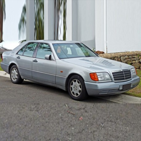 Mercedes S-Class (W140) Owners Manual / User Manual
