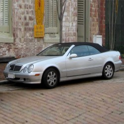 Mercedes CLK-Class Cabriolet (W208) - Owners Manual - User Manual
