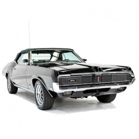 Mercury Cougar (1969) - Service Manual / Repair Manual